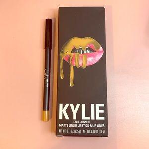 Nib Kylie Cosmetics lip liner in butternut